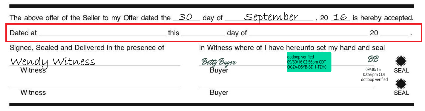 DID YOU KNOW An Electronic Signature Date Stamp Replaces The Dated